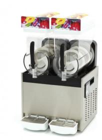 Granitor | Urządzenie do napojów lodowych slush shake | 2 zbiorniki 2x15 litrów | MS2x15