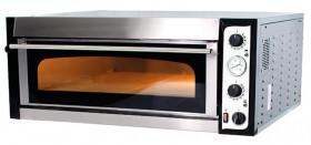 Piec do pizzy elektryczny | jednokomorowy | 6x35 | szeroki | TOP 6 XL/L (TecPro6 BIG/L)