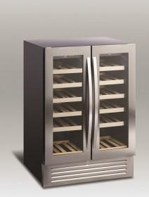 Chłodziarka do wina | szafa chłodnicza na wino | 2 strefy | SV90 | 2x60l