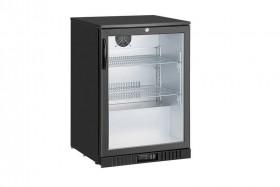 Barowa Gastronomiczna szafa chłodnicza | chłodziarka podblatowa LG-138HC | 124l