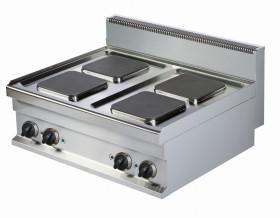 Kuchnia elektryczna nastawna ER721K-S   4-płytowa   10,4 kW   linia 700