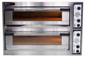 Piec do pizzy elektryczny | dwukomorowy | 12x35 | szeroki | One 66 XL/L (Start66 BIG/L)