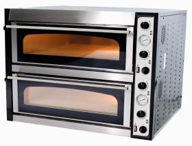 Piec do pizzy elektryczny | dwukomorowy | 8x35 | TOP 44 XL (TecPro44)
