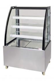 Witryna chłodnicza cukiernicza LOTUS | 900mm | nierdzewna