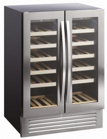 Chłodziarka do wina | szafa chłodnicza na wino | 2 strefy | SV91X | 119 l