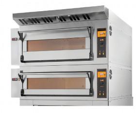 Gastronomiczny, elektryczny piec piekarniczy modułowy szamotowy | 8x600x400 | TRD66