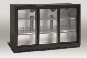 Barowa szafa chłodnicza | chłodziarka podblatowa | SC309SL | 335l drzwi przesuwne