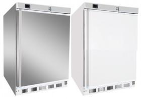Szafa chłodnicza podblatowa drzwi pełne 130 l nierdzewna HR - 200/S drzwi pełne