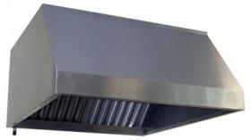 Okap gastronomiczny uniwersalny OKAP RM Gastro 100-110-52,5 cm