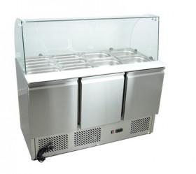Stół chłodniczy sałatkowy nierdzewny SCHS - 3