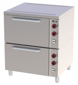 Piekarnik elektryczny 2x GN 2/1 EPP - 02 S