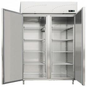 Szafa chłodnicza zapleczowa nierdzewna 2x GN 2/1 LS - 140