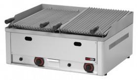 Grill gastronomiczny lawowy podwójny gazowy GL - 60 G