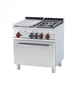 Gastronomiczna Kuchnia żeliwna gazowa zpiekarnikiem TPF2 - 78 GE/P