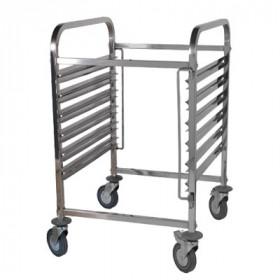 Wózek na pojemniki GN TRL - 6 GN