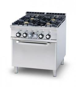 Kuchnia gazowa zpiekarnikiem elektrycznym CFV6 - 912 GEV