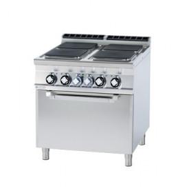 Kuchnia elektryczna zpiekarnikiem CFVQ4 - 98 ET