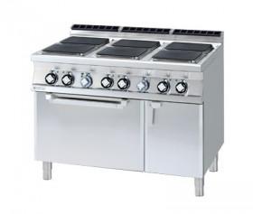 Kuchnia elektryczna zpiekarnikiem CFVQ6 - 912 ETV