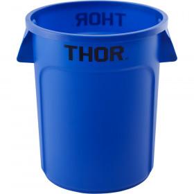 Pojemnik uniwersalny na odpadki, Thor, niebieski, V 75 l