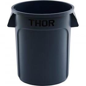 Pojemnik uniwersalny na odpadki, Thor, szary, V 75 l