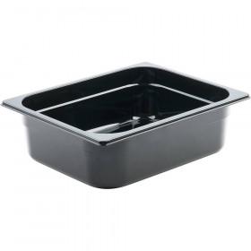 Pojemnik GN 1/2 150 czarny poliwęglan