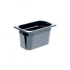 Pojemnik GN 1/4 150 czarny poliwęglan
