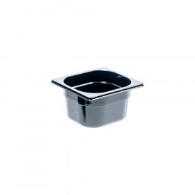 Pojemnik GN 1/6 100 czarny poliwęglan