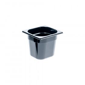 Pojemnik GN 1/6 150 czarny poliwęglan