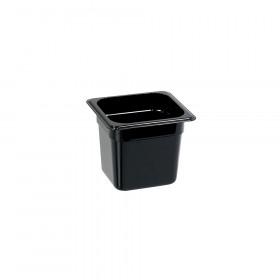 Pojemnik GN 1/6 150 mm, czarny poliwęglan