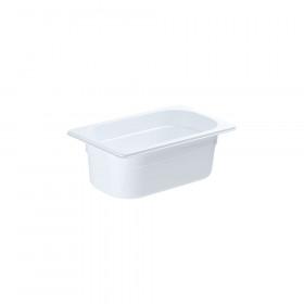 Pojemnik GN 1/4 100 biały poliwęglan