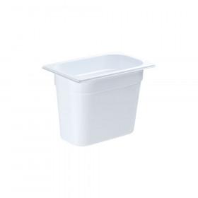 Pojemnik GN 1/4 200 biały poliwęglan