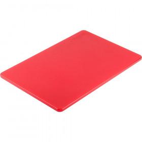 Deska do krojenia 450x300 mm czerwona Hit