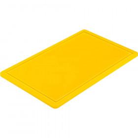 Gastronomiczna deska do krojenia GN 1/1 żółta