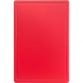 Deska do krojenia 600x400x18 mm czerwona