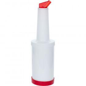 Dyspenser barmański 1 l czerwony