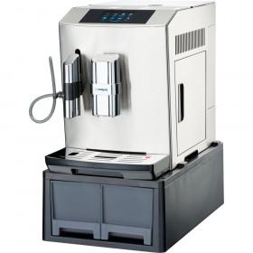Ekspres automatyczny do kawy z wysuwanymi szufladami, stal nierdzewna Hit