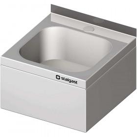 Umywalka na zaplecze kuchenne, nierdzewna HACCP 400x410x240 mm