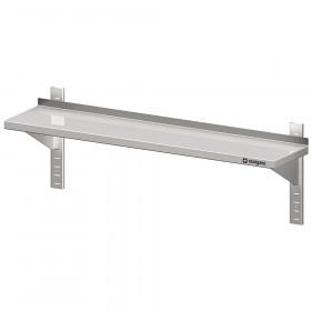 Półka nierdzewna wisząca, przestawna,pojedyncza 1200x300x400 mm