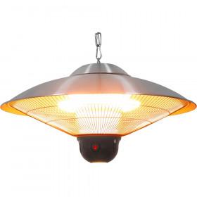 Gastronomiczna Lampa grzewcza wisząca ze zdalnym sterowaniem i oświetleniem LED