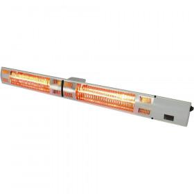Gastronomiczna Lampa grzewcza wisząca / ścienna 105 cm ze zdalnym sterowaniem