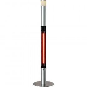 Lampa grzewcza z oświetleniem LED, H 1800 mm, P 1.5 kW