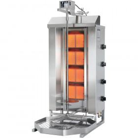 Gyros, kebab gazowy, GD 4/S, P 14 kW, G 20
