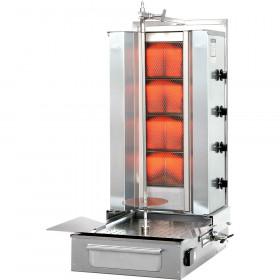 Gyros kebab gazowy Stalgast PotisF GD 4, P 14 KW, G 30
