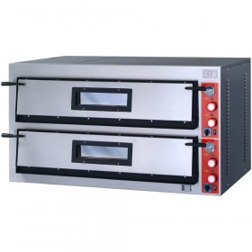 Piec gastronomiczny do pizzy FR_Line 2x6x36 szeroki
