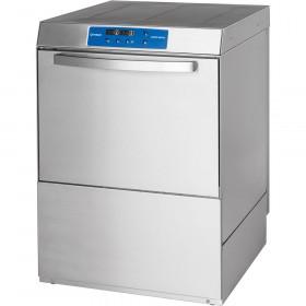 Gastronomiczna Zmywarka uniwersalna Stalgast 801566 Power Digital z dozownikiem płynu myjącego, pompą zrzutową i pompą wspomagającą płukanie