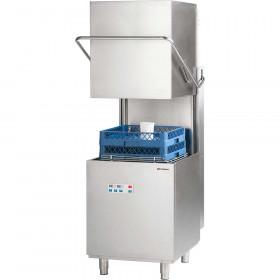 Zmywarka kapturowa Stalgast 500x500, 11.1 kW z dozownikiem płynu myjącego i pompą wspomagającą płukanie i pompą zrzutową