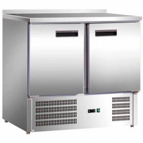 Stół chłodniczy 2 drzwiowy agregat na dole 842029 Stalgast Hit