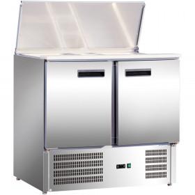 Stół chłodniczy sałatkowy 2 drzwiowy 842129 Stalgast Hit