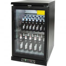 Chłodziarka do butelek 150l drzwi otwierane przeszklone