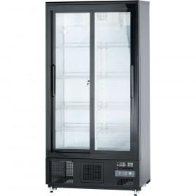 Szafa chłodniczna do butelek 490 l drzwi przesuwane Stalgast 882171 Hit